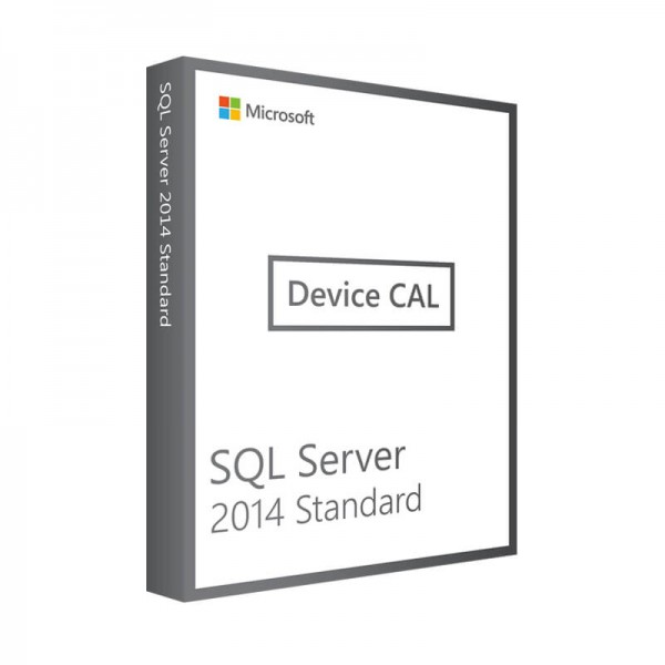 Microsoft SQL Server 2014 Standard- 1 Device CAL