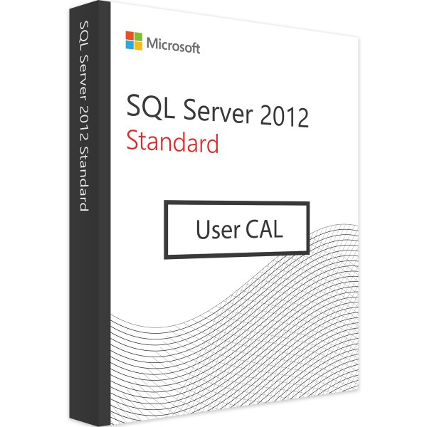 Microsoft SQL Server 2012 Standard - 10 User CALs