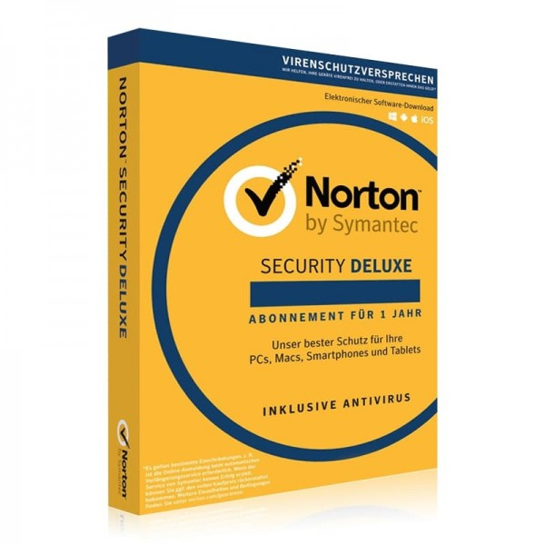 Norton Security 2017 Deluxe