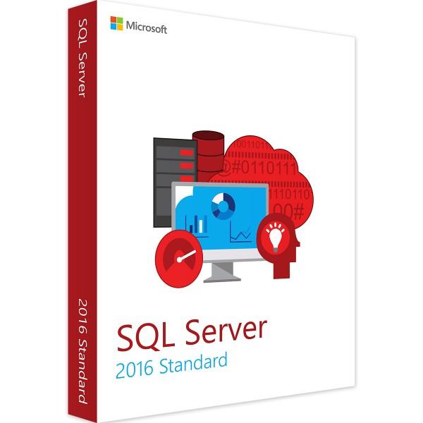 Microsoft SQL Server 2016 Standard / 2 Core