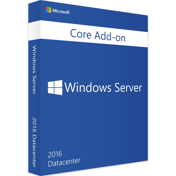 Windows Server 2016 Datacenter 2 Core Add-On