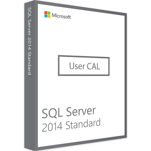 Microsoft SQL Server 2014 Standard - 1 User CAL