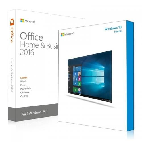 Windows 10 Home + Office 2016 Home & Business Download + Lizenzschlüssel