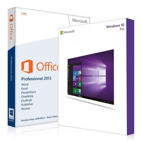 Windows 10 Pro + Office 2013 Professional