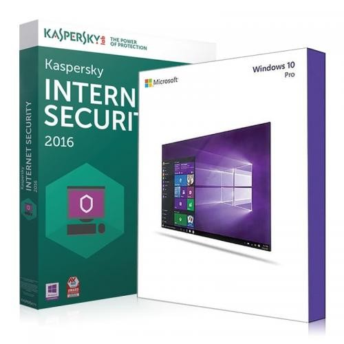 Windows 10 Pro + Kaspersky Internet Security 2017 Download + Lizenzschlüssel
