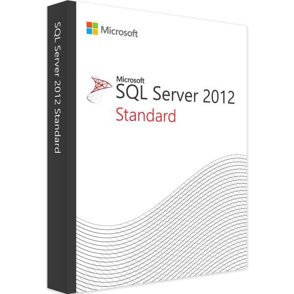 Microsoft SQL Server 2012 Standard (2 Core)
