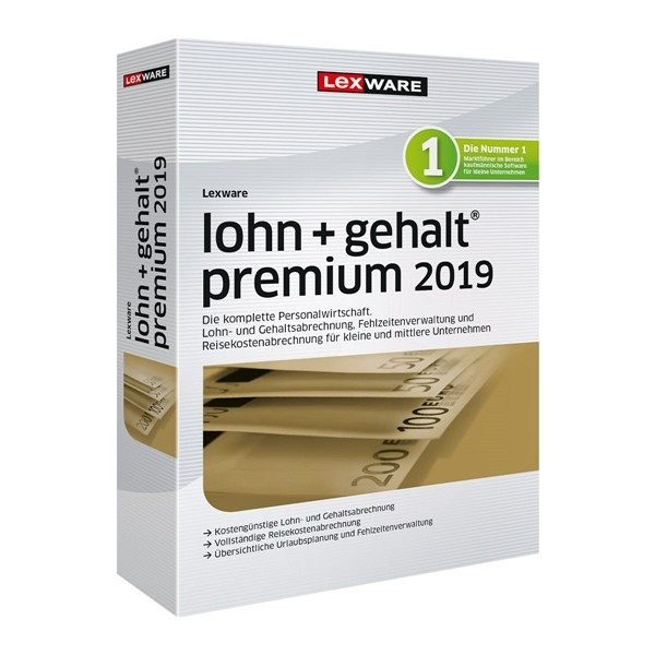 Lexware Lohn + Gehalt Premium 2019