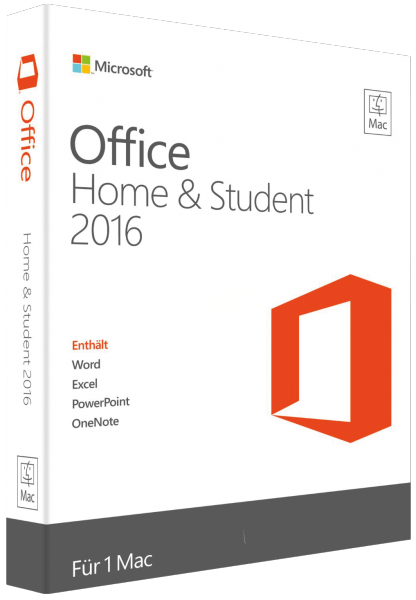 Office 2016 Home & Student für Mac
