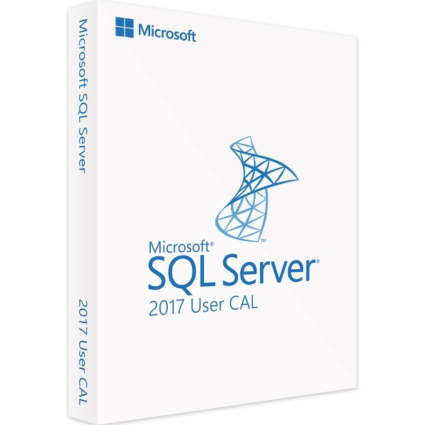 Microsoft SQL Server 2017 Standard - 1 User CAL