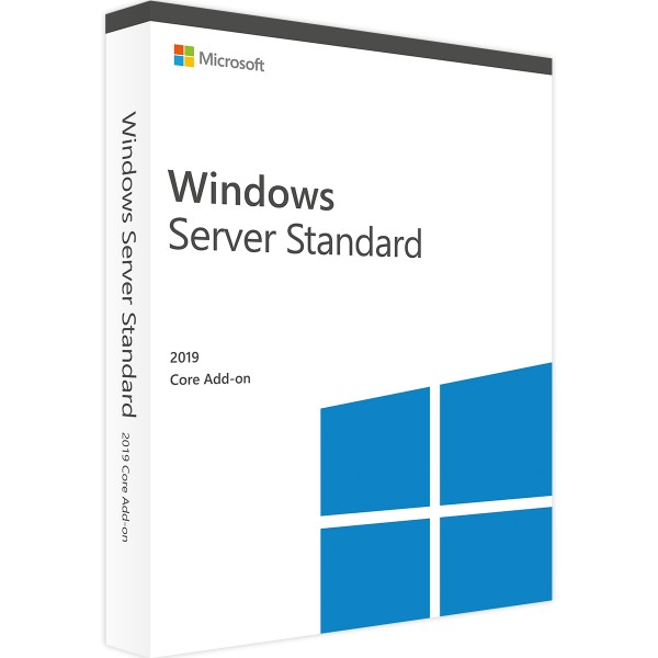 Windows Server 2019 Standard 2 Core Add-On
